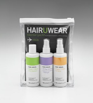 3 Piece Hair care Travel Kit<br>by Hairuwear