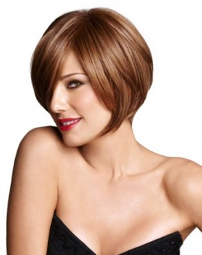 Angled Bob Wig<br>Lace Front-Heat Friendly<br>Luxhair WOW