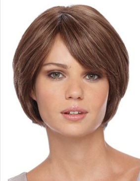 Audry Wig<br>Remy Human Hair<br>Full Hand-Tied-Lace Front<br>by Estetica Designs