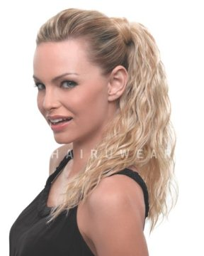 18&quot; Simply Wavy Wrap Around Pony<br>Heat Friendly<br>by Hairdo