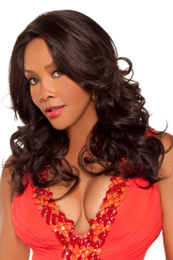 Bellagio Wig<br>Remi Human Hair<br>Lace Front<br>Vivica Fox