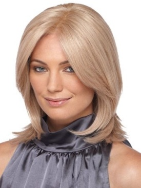 Brook Wig<br>Remy Human Hair<br>Lace Front-Mono Top<br>by Estetica Designs
