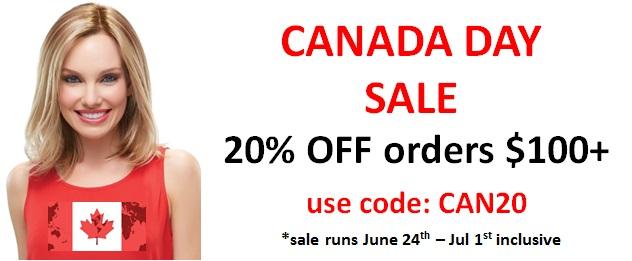 Canada Day Wig Sale
