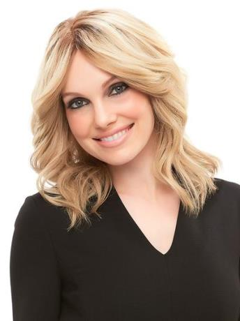 Cara Wig Elite<br>Remy Human Hair<br>French Drawn Hand-Tied<br>Jon Renau