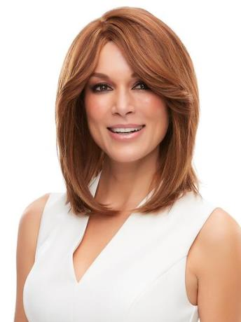 Cara Wig<br>Remy Human Hair<br>French Drawn Hand-Tied<br>Jon Renau