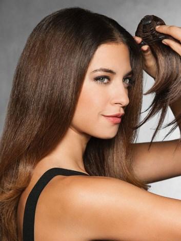 clip in bangs by Hairdo