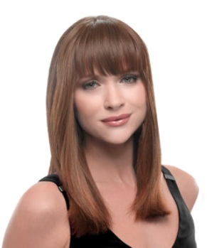 Clip-in Bang Extension<br>Heat Friendly<br>by Hairdo