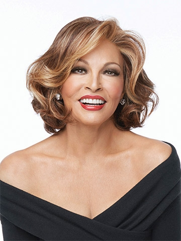 Crowd Pleaser Wig<br>Clearance Colour<br>sLace Front-Mono Crown<br>Heat Friendly<br>Raquel Welch