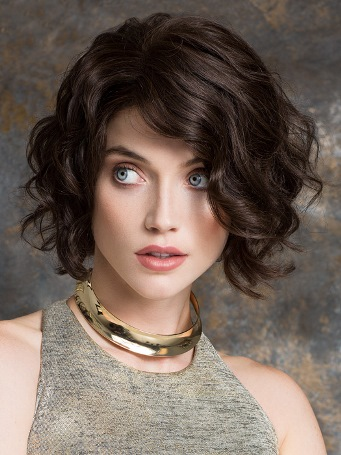 Delicate Wig<br>Remy Human Hair<br>Full Hand-Tied-Lace Front<br>Ellen Wille