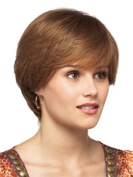 Demi Wig<br>Human Hair<br>Mono Top<br>Revlon