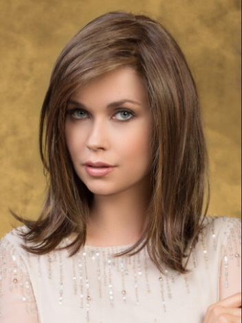 Effect Hairpiece<br>Mono Top-Lace Front<br>Heat Friendly<br>Ellen Wille