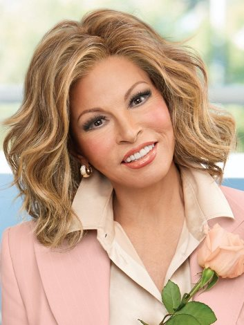 Editor's Pick Wig<br>Lace Front-Mono Top<br>Heat Friendly<br>Raquel Welch