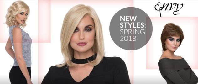 Envy Spring 2018 wigs