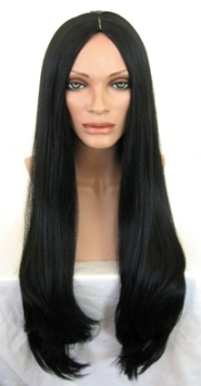 Very Long Black Wig
