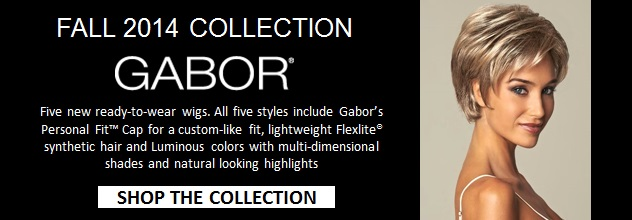 Gabor Fall 2014 Wig Collection