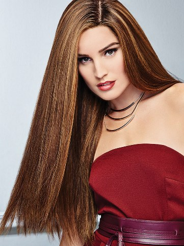 Glamour Wig<br>Remy Human Hair<br>Lace Front-Hand Tied<br>Raquel Welch
