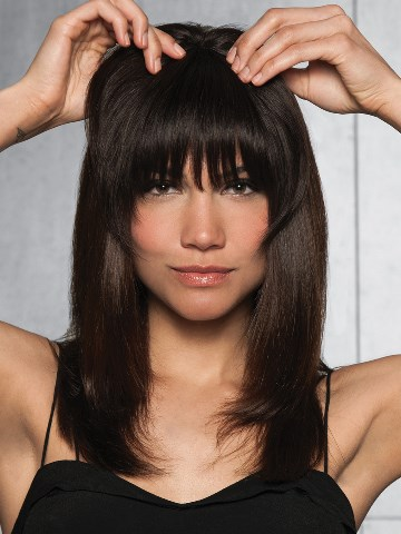 clip in bangs by Hairdo