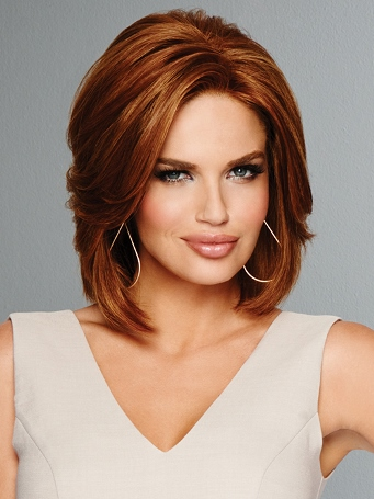 Hollywood Devine Wig<br>Remy Human Hair<br>Lace Front-Hand Tied<br>Raquel Welch