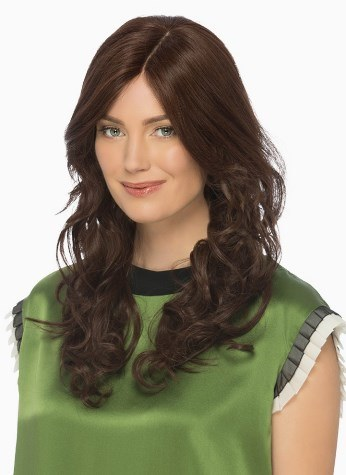 Isabel Wig<br>Remi Human Hair<br>French Mono Part Top<br>by Estetica Designs