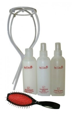 5 Piece Hair Care Kit<br><i>with Plastic Stand<br>by Jon Renau