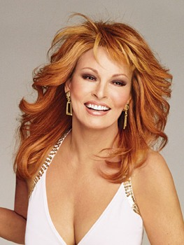 Knockout Wig<br>Human Hair<br> Mono Top<br>Raquel Welch