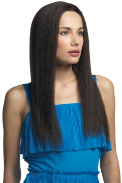 Yaki Lace Front Wig<br>Human Hair<br>Full Hand-tied<br>by Helena