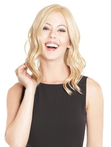 Lace Front Mono Top Wave<br>14&quot; Top Piece<br>Heat Friendly<br>Belle Tress