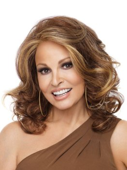 Leading Lady Wig<br>Lace Front-Mono Top<br>Heat Friendly<br>Raquel Welch
