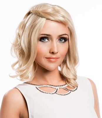 Lola Wig<br>Human Hair<br>Lace Front-Full Hand-Tied<br>New Image