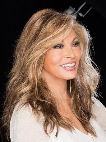Longing for Long Wig<br>Lace Front-Mono Top<br> Raquel Welch