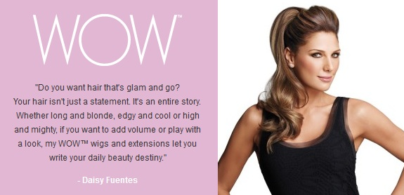 Luxhair WOW by Daisy Fuentes