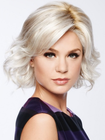 Modern Motif Wig<br>Lace Front-Mono Part<br>by Eva Gabor