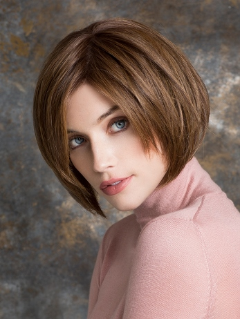 Mood Wig<br>Human Hair/Heat<br>Friendly Synthetic<br>Full Hand-Tied-Lace Front<br>Ellen Wille