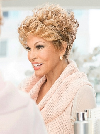 The New Romantic Wig<br>Lace Front-Mono Top<br>Raquel Welch