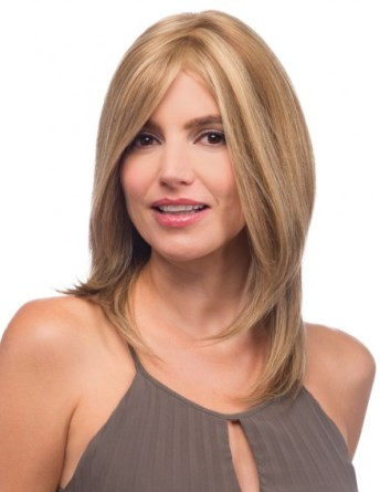 Nicole Wig<br>Remy Human Hair<br>Full Hand-Tied-Lace Front<br>by Estetica Designs