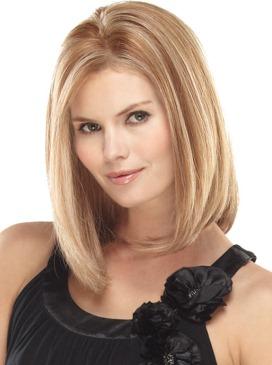 Nicole Wig<br>Human Hair<br>Mono Top-Lace Front <br>Jon Renau