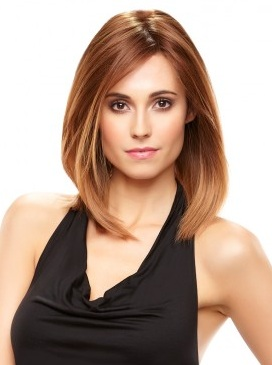Nicole Elite WigHuman HairMono Top-Lace Front Jon Renau