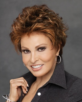 Ovation Wig<br>Lace Front-Mono Top<br>Heat Friendly<br>Raquel Welch