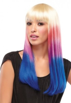 Party Girl - Candy Stripe<br>Costume Wig<br> by Jon Renau