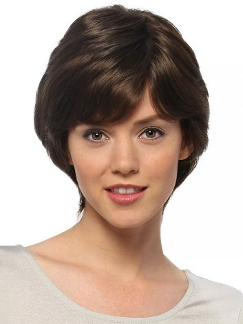 Sabrina Wig<br>Remy Human Hair<br>Full Hand-Tied-Lace Front<br>by Estetica Designs