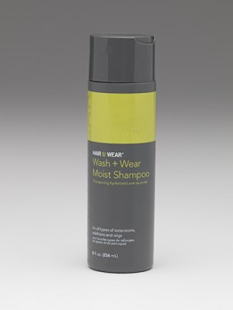 Wash + Wear Shampoo 8oz<br>by Hairuwear