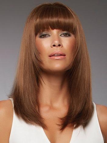 Sienna Wig<br>Remy Human Hair<br>Mono Top-Lace Front<br>Jon Renau