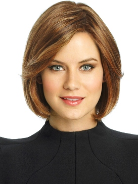 Soft Focus Wig<br>Human Hair<br>Lace Front-Hand-Tied<br>Raquel Welch