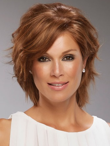 Sophia Wig<br>Remy Human Hair<br>Full Hand Tied-Lace Front<br>Jon Renau