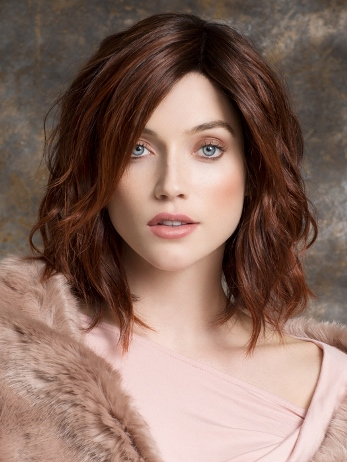 Spirit Wig<br>Human Hair/Heat<br>Friendly Synthetic<br>Full Hand-Tied-Lace Front<br>Ellen Wille