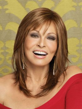 Star Quality Wig<br>Lace Front-Mono Part<br>Raquel Welch
