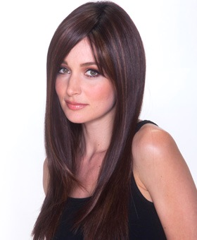 Straight Press 23 Wig<br>Lace Front-Mono Top<br>Heat Friendly<br>Belle Tress