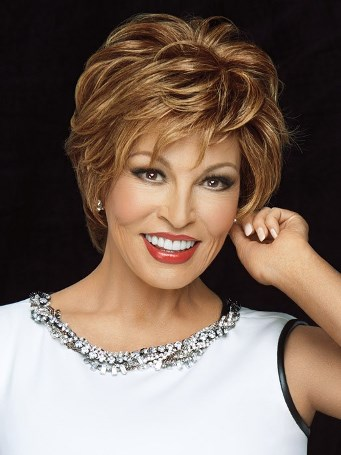 Stunner Wig<br>Human Hair<br>Full Hand-Tied<br>Raquel Welch