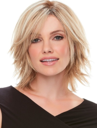 Top Form 6-8&quot; Elite<br>Remy Human Hair Piece<br>Mono Top<br>Jon Renau