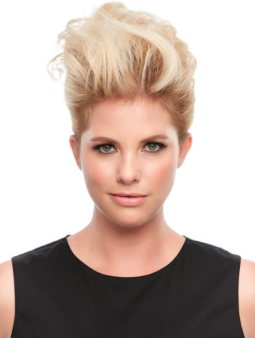 Top This 12&quot;<br>Remy Human Hair Piece<br>Jon Renau